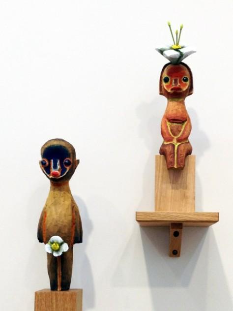 Izumi Kato's work, Galerie Perrotin