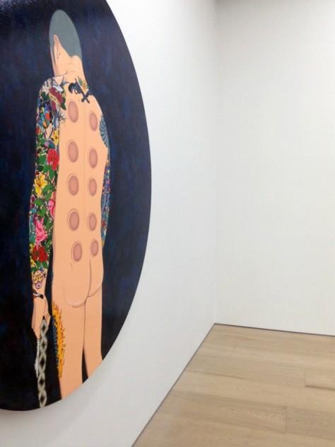 Chen Fei's work, Galerie Perrotin