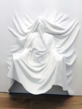Draped Figure Arms Out, Daniel Arsham