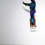 Champagne Kid (Stepping), Yinka Shonibare