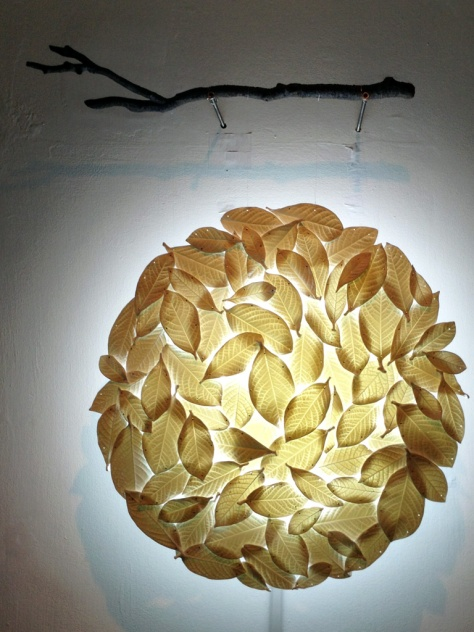 Gold Camellia, Fiona Wong @ Grotto Fine Art (Jan 2014)