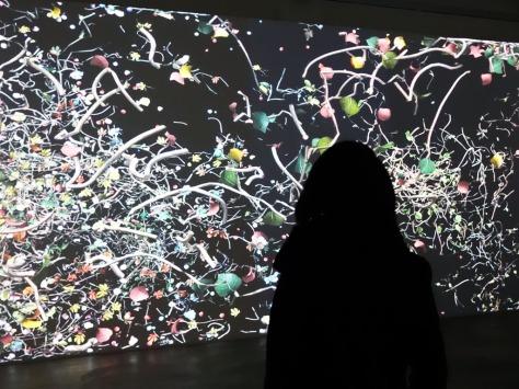 Diaspore by Jennifer Steinkamp at Lehmann Maupin
