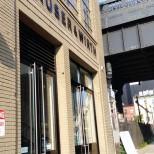 紐約 Hauser and Wirth 大門 - 看到警告標誌嗎?