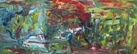 2a_Showdown_Oil on canvas_39 X 78 inches_2014