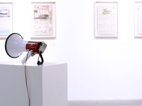 程展緯作品《擬人法:小喇叭》
