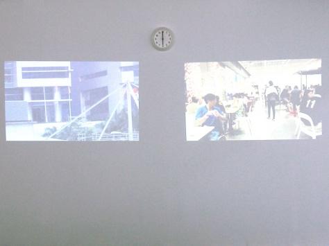《Screensaver 楚門的世界》展覽中程展緯最喜歡的作品— 《楚門的世界:日落的國》和 《楚門的世界:日落的家》
