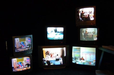Rental United, Dimension Variable, Surveillance Cameras and Live Video Installation, 2010 (Image courtesy of Rental United)