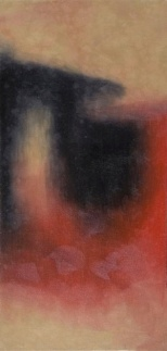 the glimpsing moments 14 Oil on Canvas, 52.5 x 25cm, 2007 (Image courtesy of the artist)