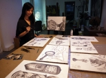Sarah 參與藝術家駐留計劃 (上海)