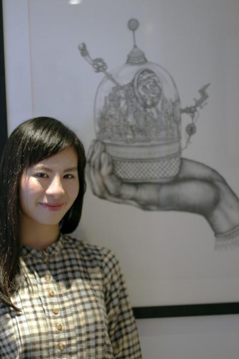 Sarah 身後畫作《Urban Landscape》的原稿現由倫敦V&A博物館收藏。