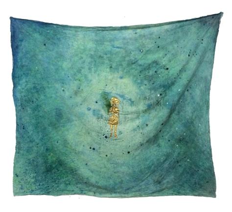 一個人的宇宙 148x168cm 丙烯棉布 2014