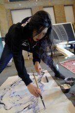 Chloe is working on Beijing Being