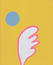 Fly… Free… Flow…, 2014 Acrylic on canvas 25.4 x 20.3 cm