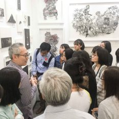 繪畫導賞 Painting tour 第2站:當代水墨 2nd stop: Contemporary fresh ink painting