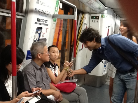 Working shot_Public intervention_Hong Kong MTR_2
