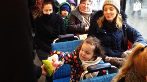 Working shot_Public intervention_Zurich trams