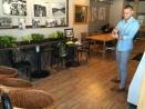 在cafe即興的和互動的創作實驗。