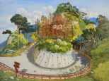 WONG Chun Hei, Detour, Oil on canvas, 30 x 40 cm