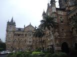 High Victorian Gothic 建築風格的 Chhatrapati Shivaji Terminus (CST) 車站