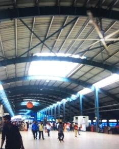 Anhderi 火車站內超巨型風扇 (圖:陳佩玲)