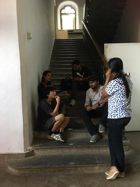 香港藝術家與孟買藝術學生交流