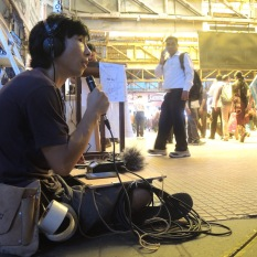 藝術家海狗以不同選位設置他的電台裝置